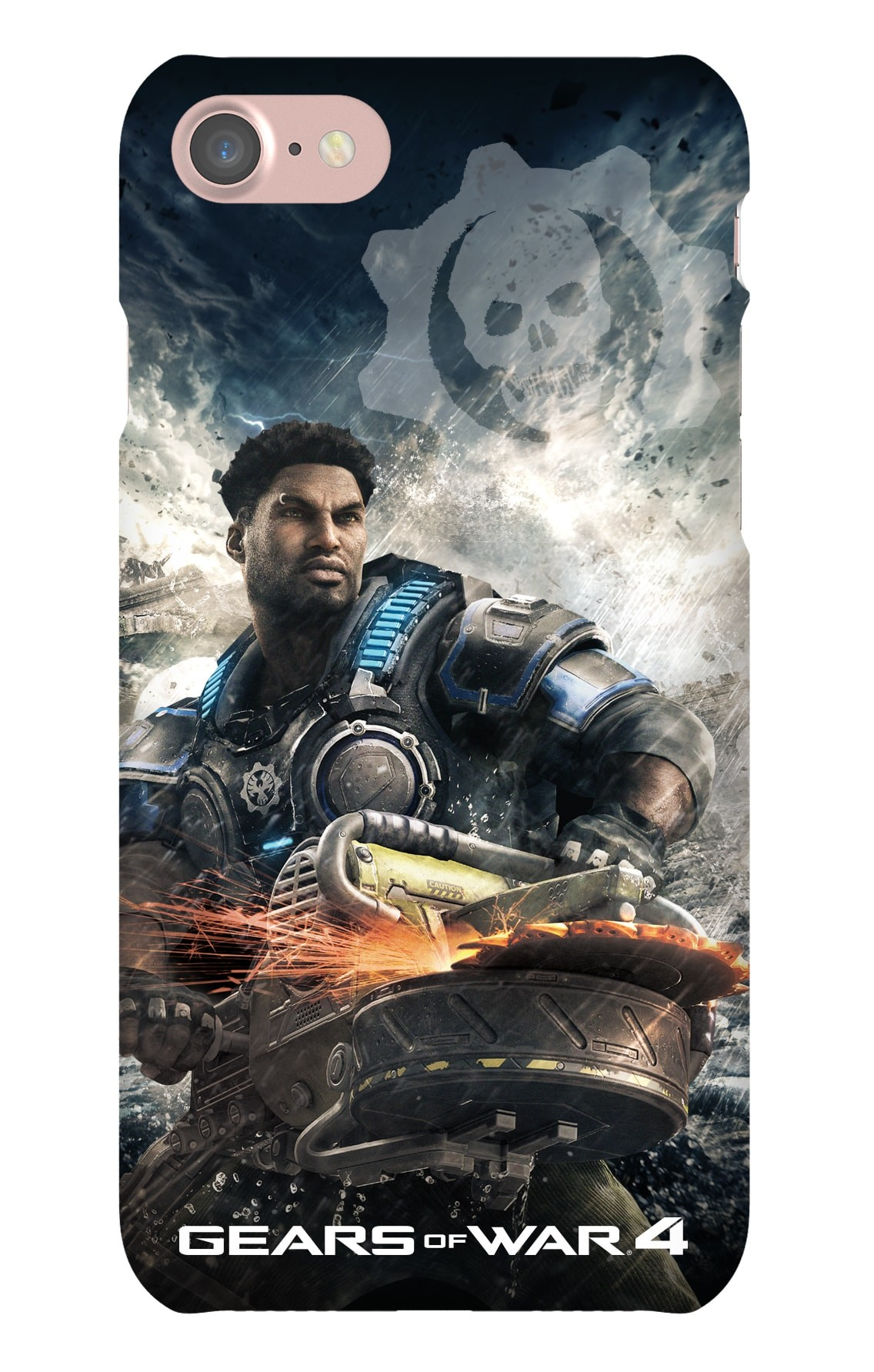 iPhone 7 Snap Case Gloss: Gears of War Del Hacksaw