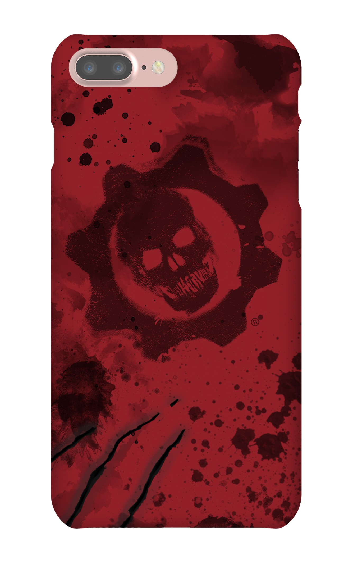 iPhone 7 Plus Snap Case Gloss: Gears of War Crimson Omen