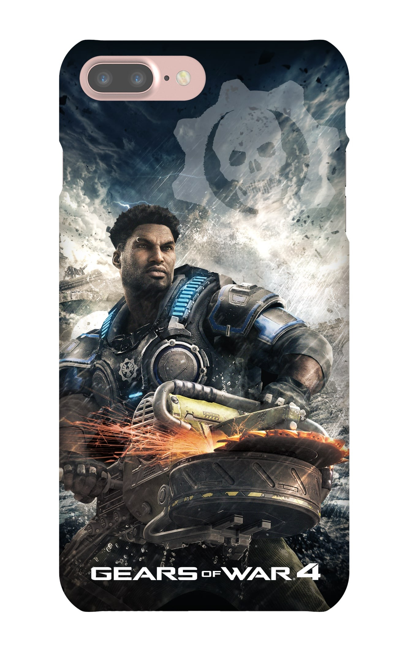 iPhone 7 Plus Snap Case Gloss: Gears of War Hacksaw