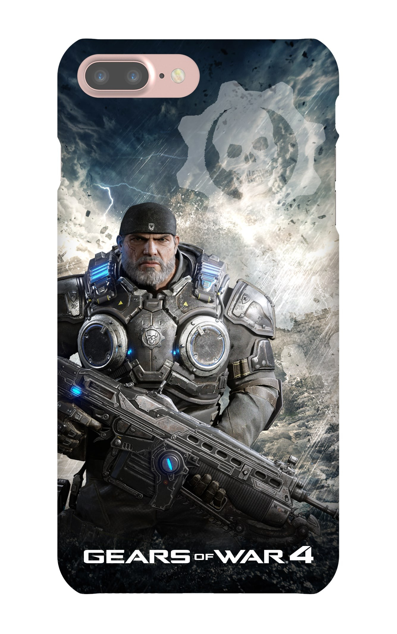iPhone 7 Plus Snap Case Gloss: Gears of War Marcus Armored