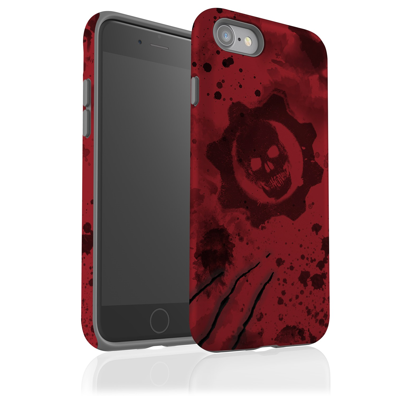 iPhone 7 Tough Case Gloss: Gears of War Crimson Omen
