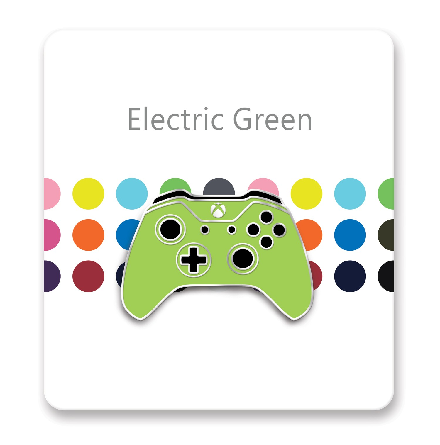 Xbox One Controller Lapel Pin – Xbox Design Lab Electric Green – Officially Licensed By Xbox