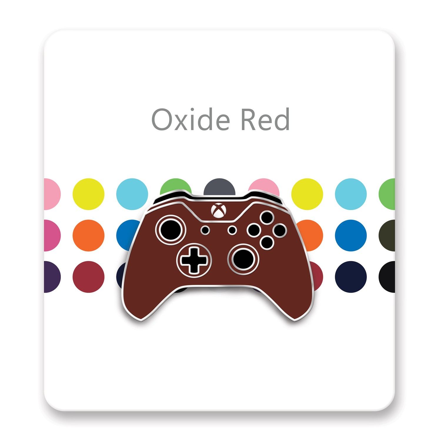 Xbox One Controller Lapel Pin – Xbox Design Lab Oxide Red – Officially Licensed By Xbox