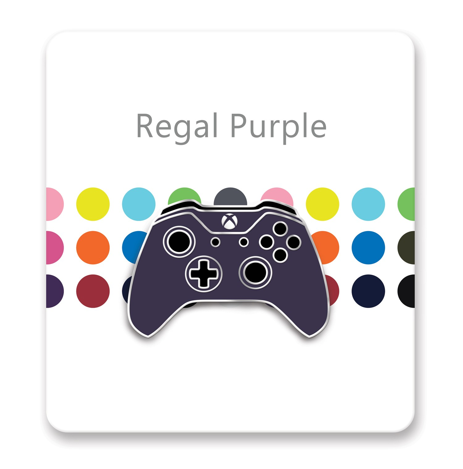 Xbox One Controller Lapel Pin – Xbox Design Lab Regal Purple – Officially Licensed By Xbox