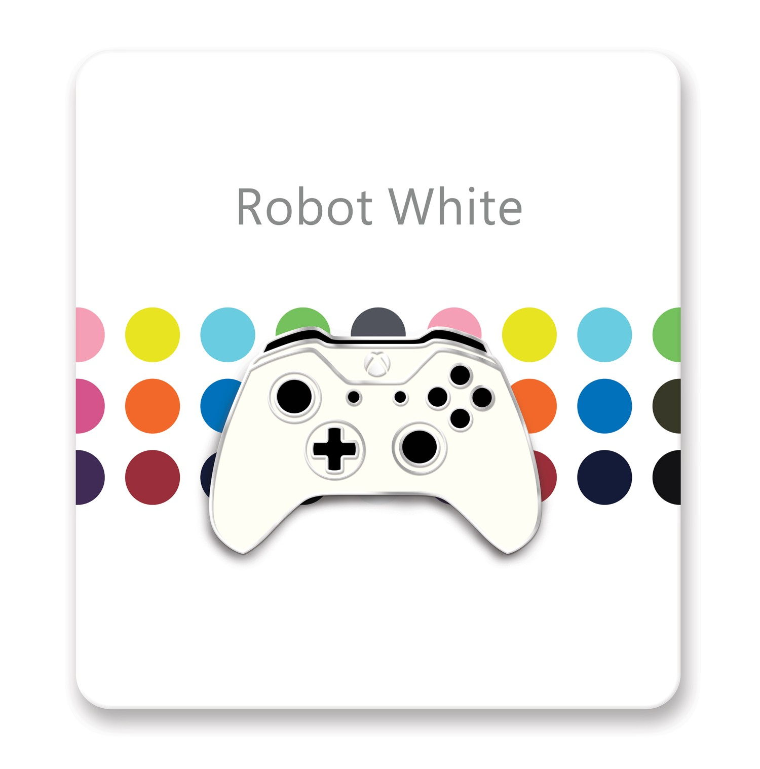 Xbox One Controller Lapel Pin – Xbox Design Lab Robot White – Officially Licensed By Xbox