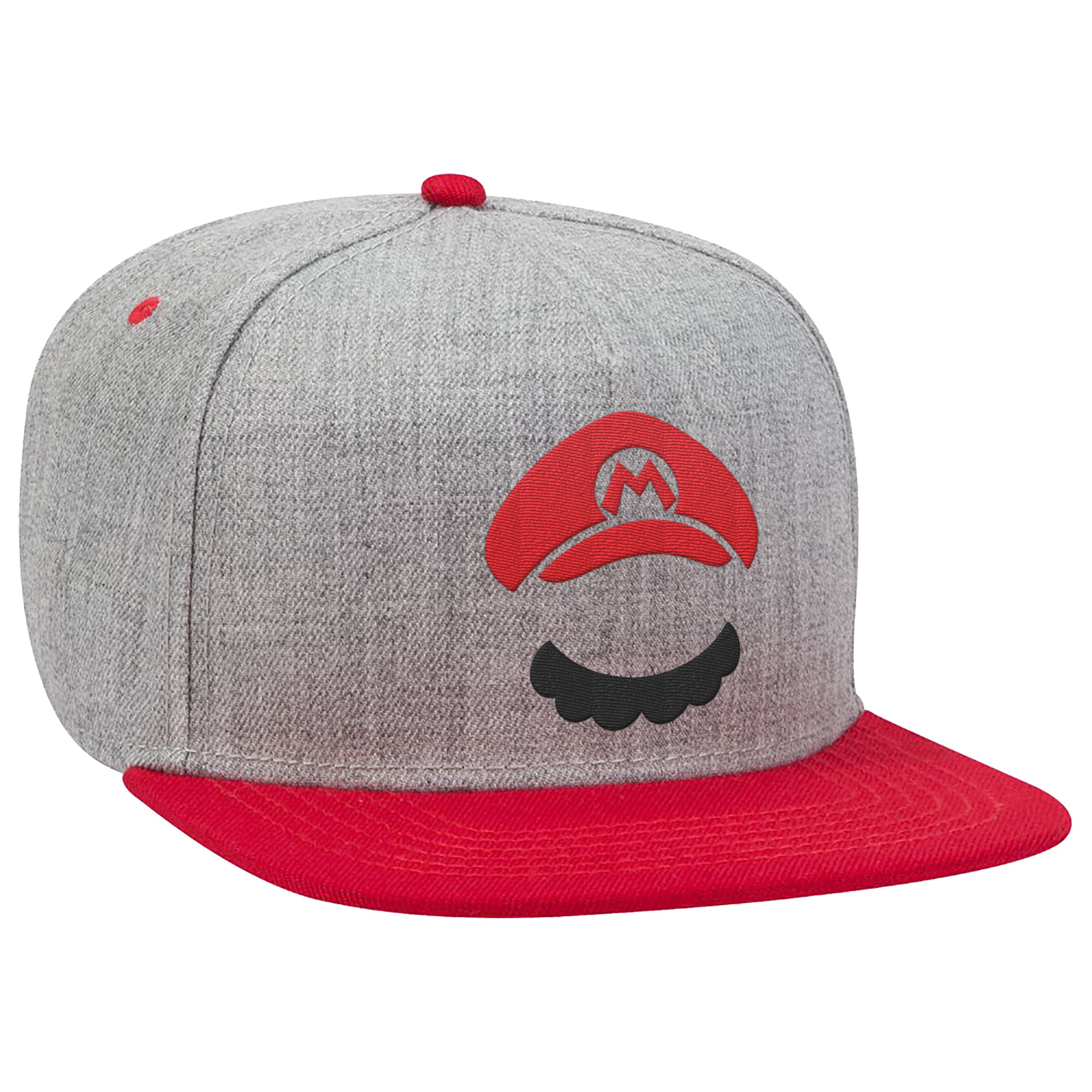 "Super Mario™ ""Mario Moustache"" Flat Bill Hat - Officially Licensed by Nintendo"