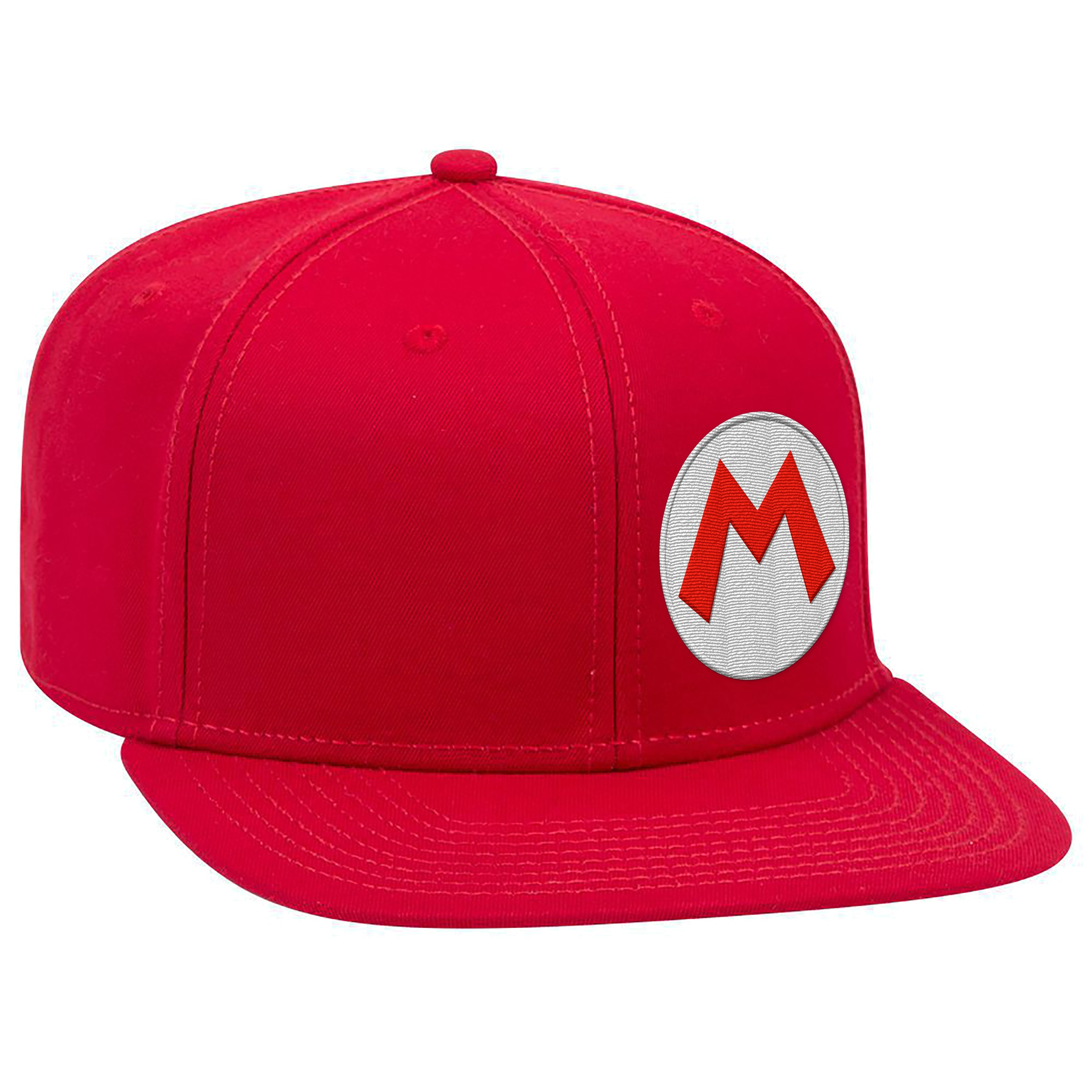 "Super Mario™ ""Mario M"" Flat Bill Hat - Officially Licensed by Nintendo"