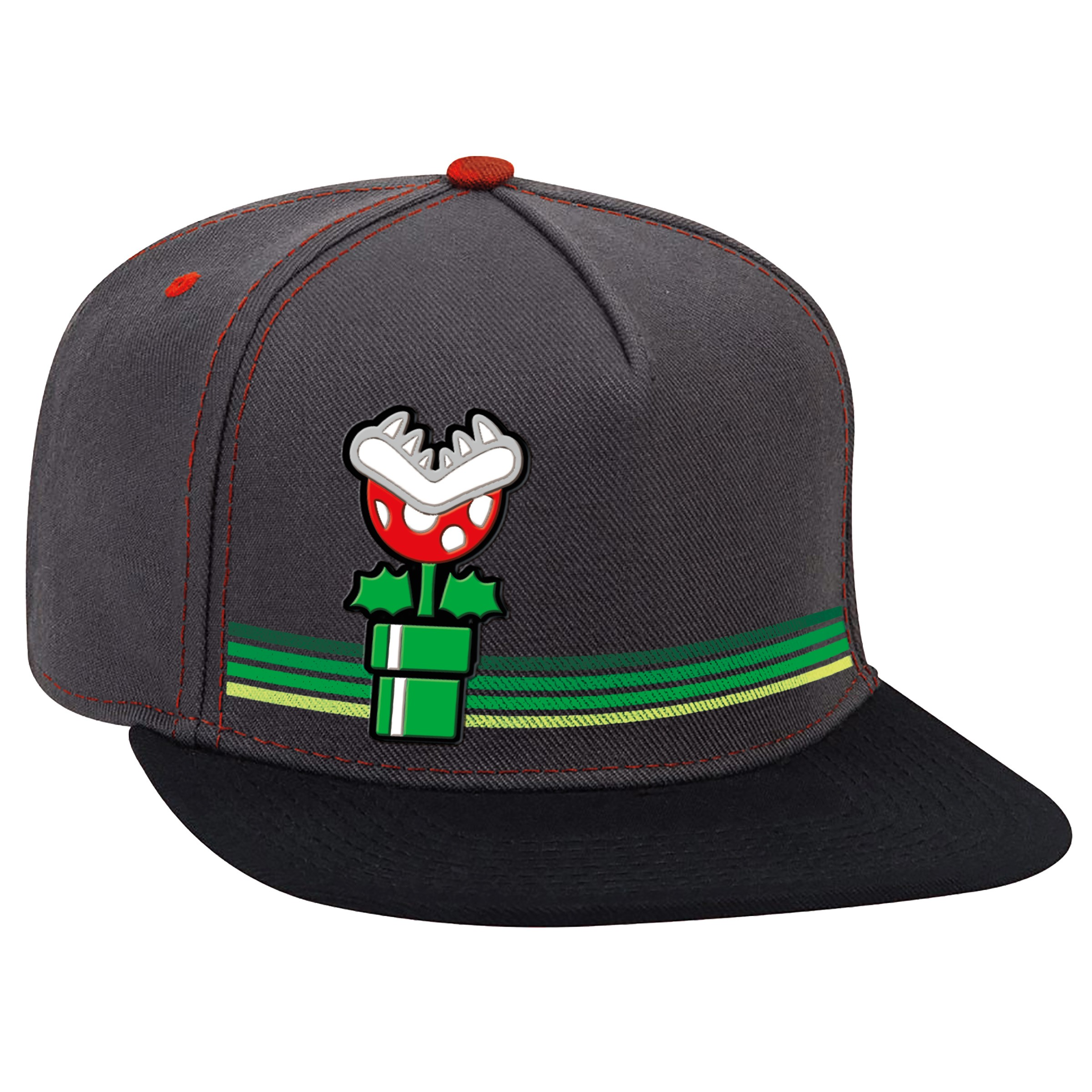 "Super Mario™ ""Piranha Vintage"" Flat Bill Hat - Officially Licensed by Nintendo"