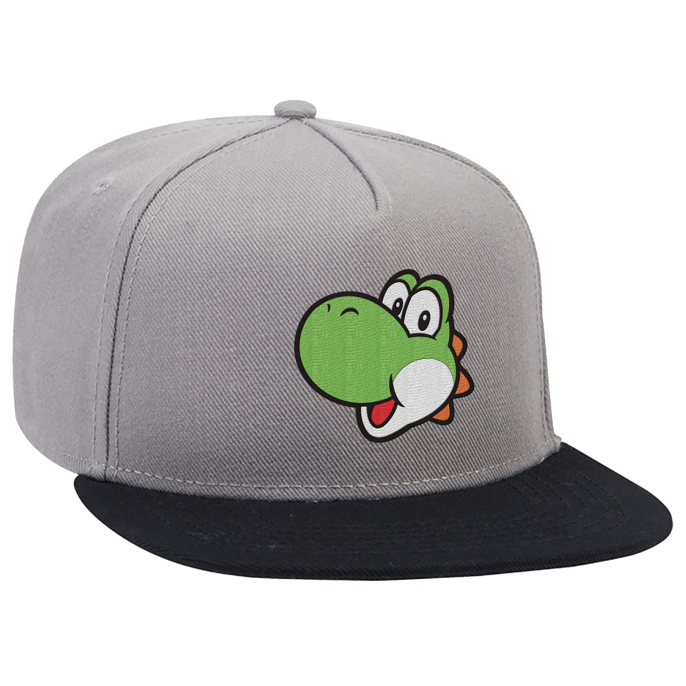 "Super Mario™ ""Yoshi"" Flat Bill Hat - Officially Licensed by Nintendo"