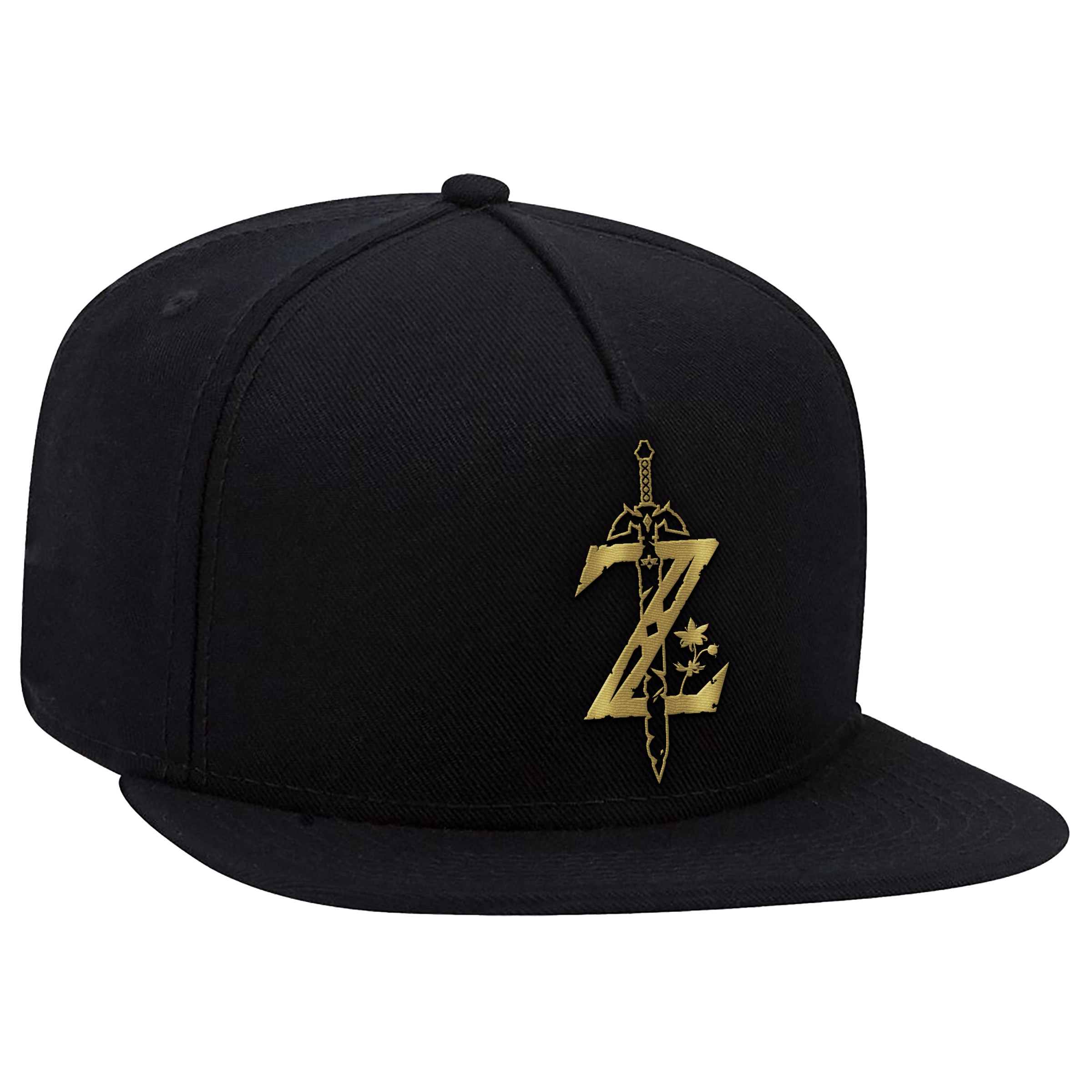 "The Legend of Zelda: Breath of the Wild ""Z Sword"" Flat Bill Hat - Officially Licensed by Nintendo"