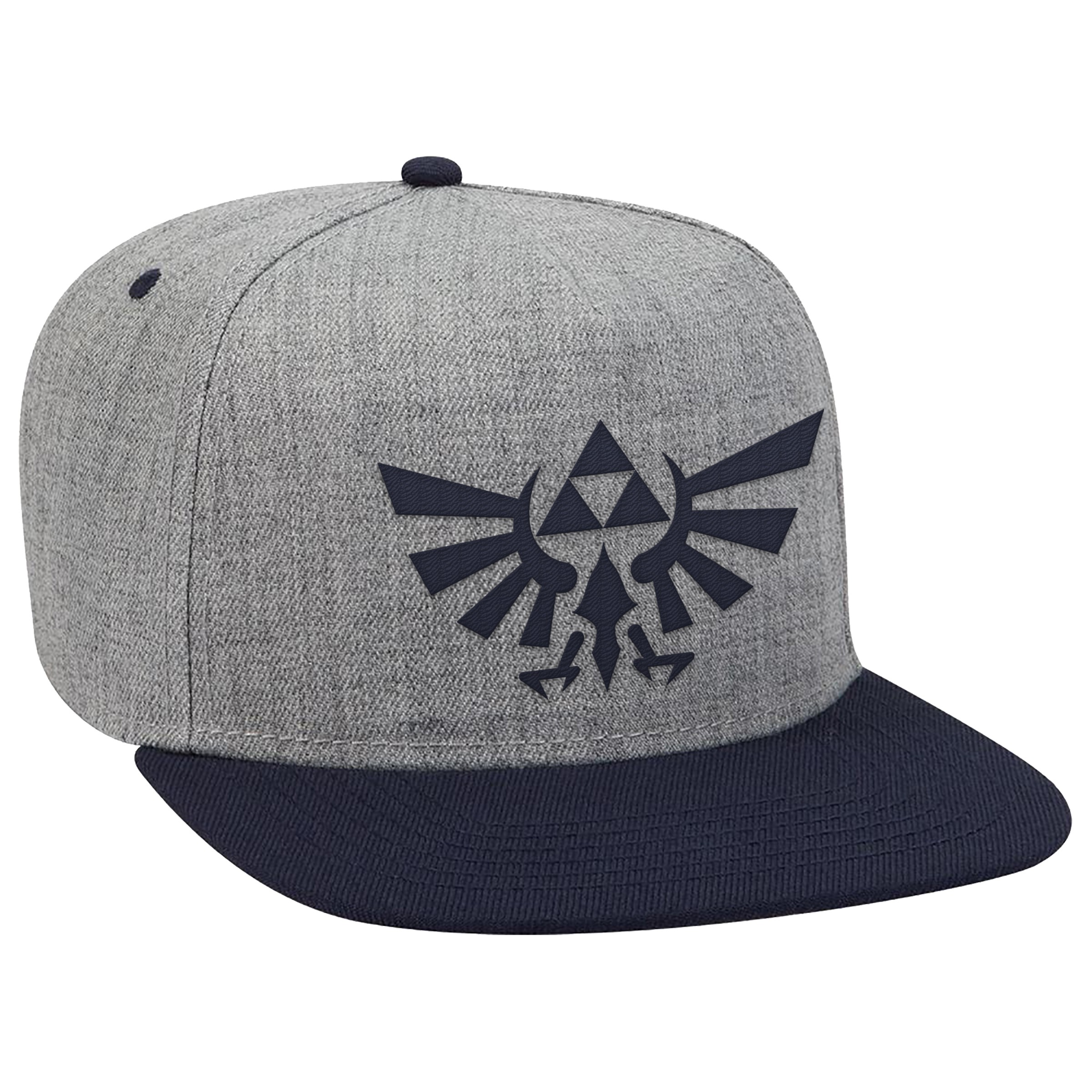 "The Legend of Zelda™ ""Navy Hyrule Crest"" Flat Bill Hat - Officially Licensed by Nintendo"