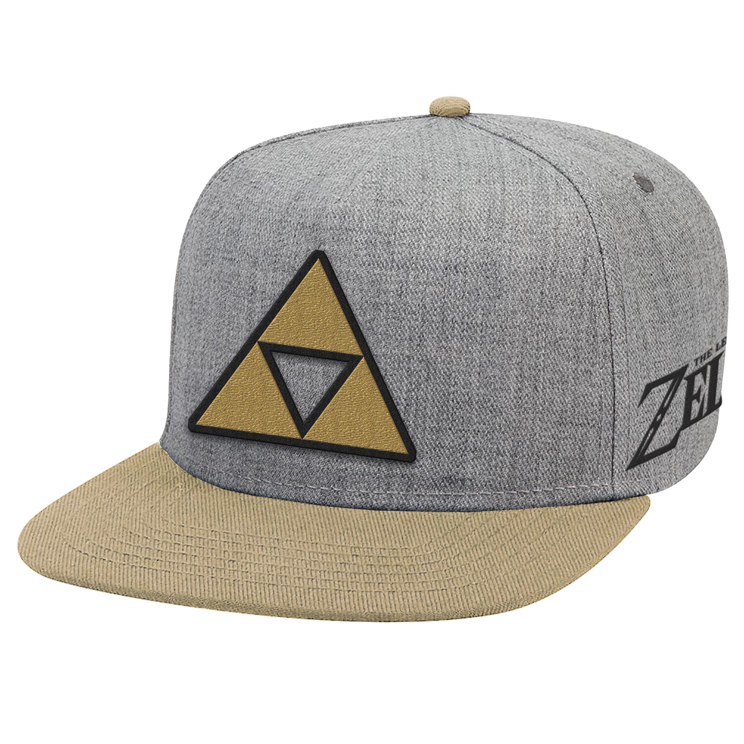 "The Legend of Zelda ""Triforce Patch"" Flat Bill Hat - Officially Licensed by Nintendo"