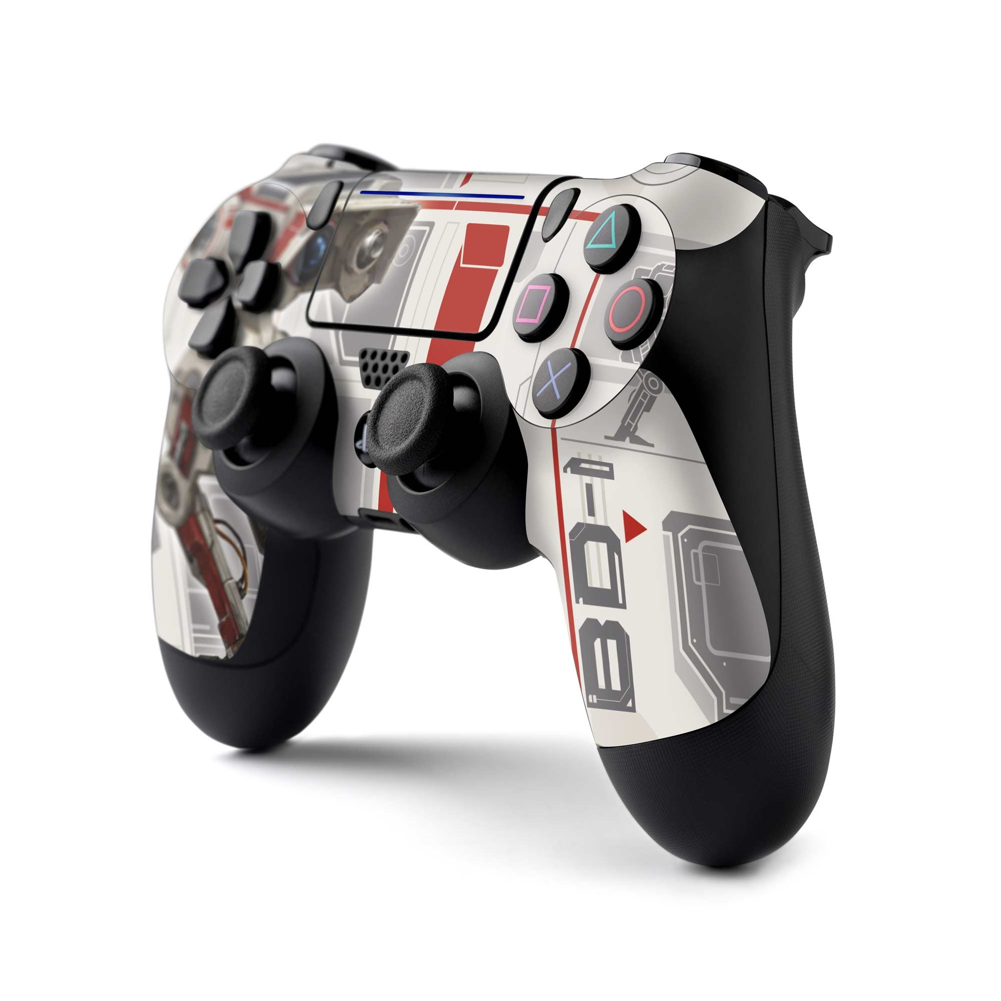 PS4 Controller Skin with a Star Wars Jedi Fallen Order BD-1 Design, Image 1