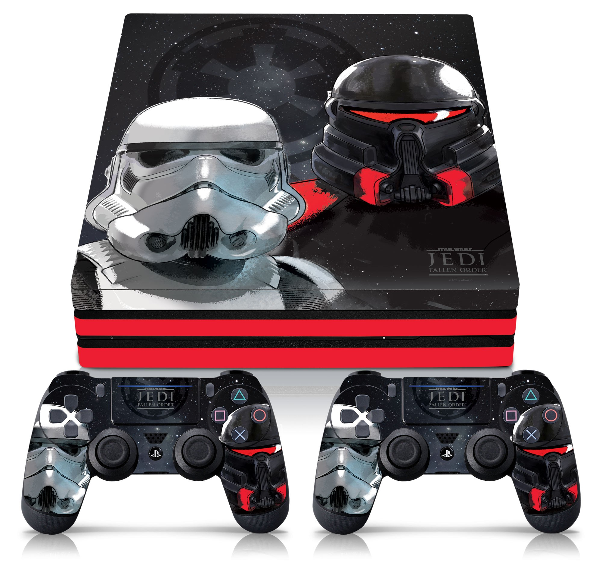Star Wars Ps4 Pro Console Controller Skin Empire Troopers