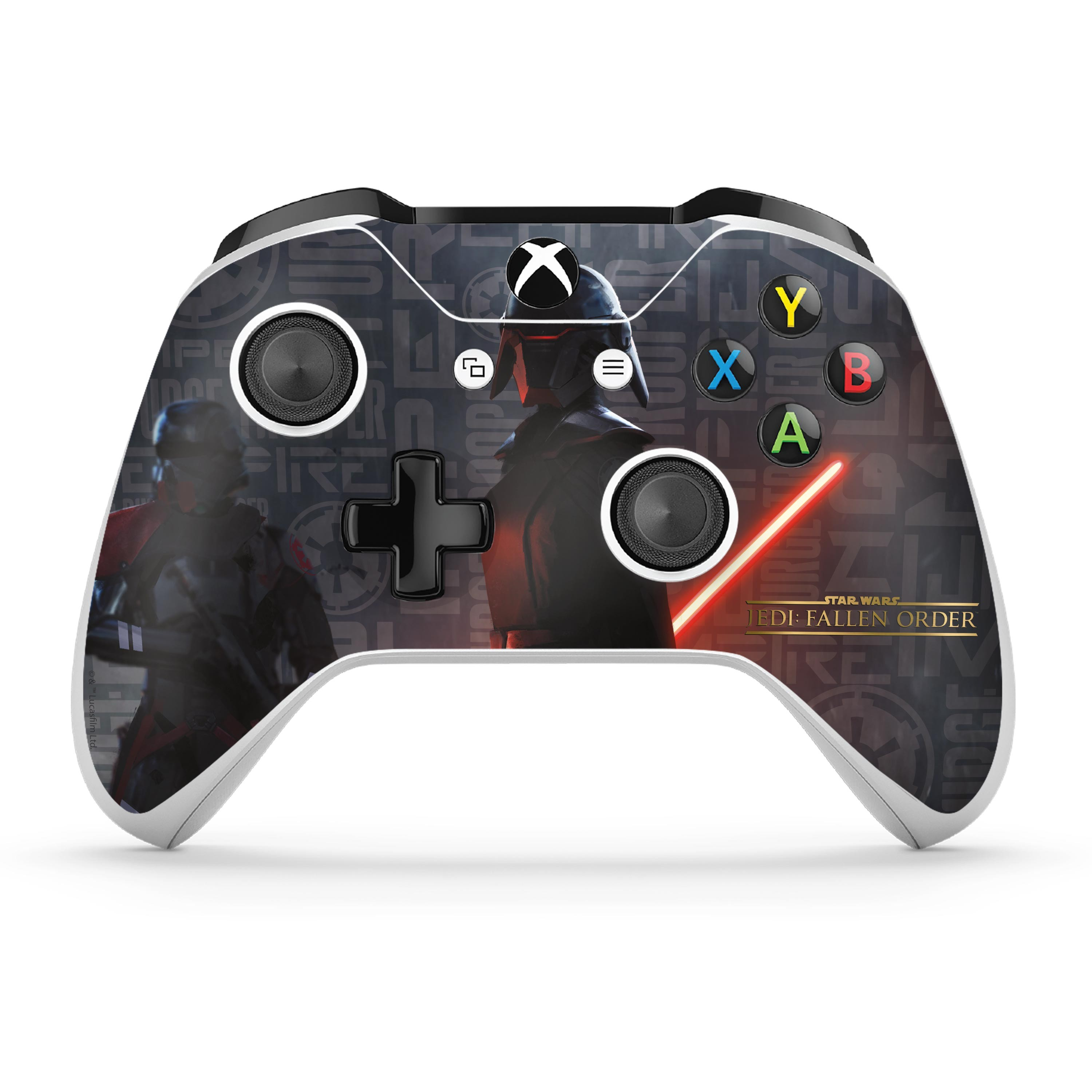 Star Wars Jedi: Fallen Order – Empire Scatter Xbox One S Console and Controller Skin