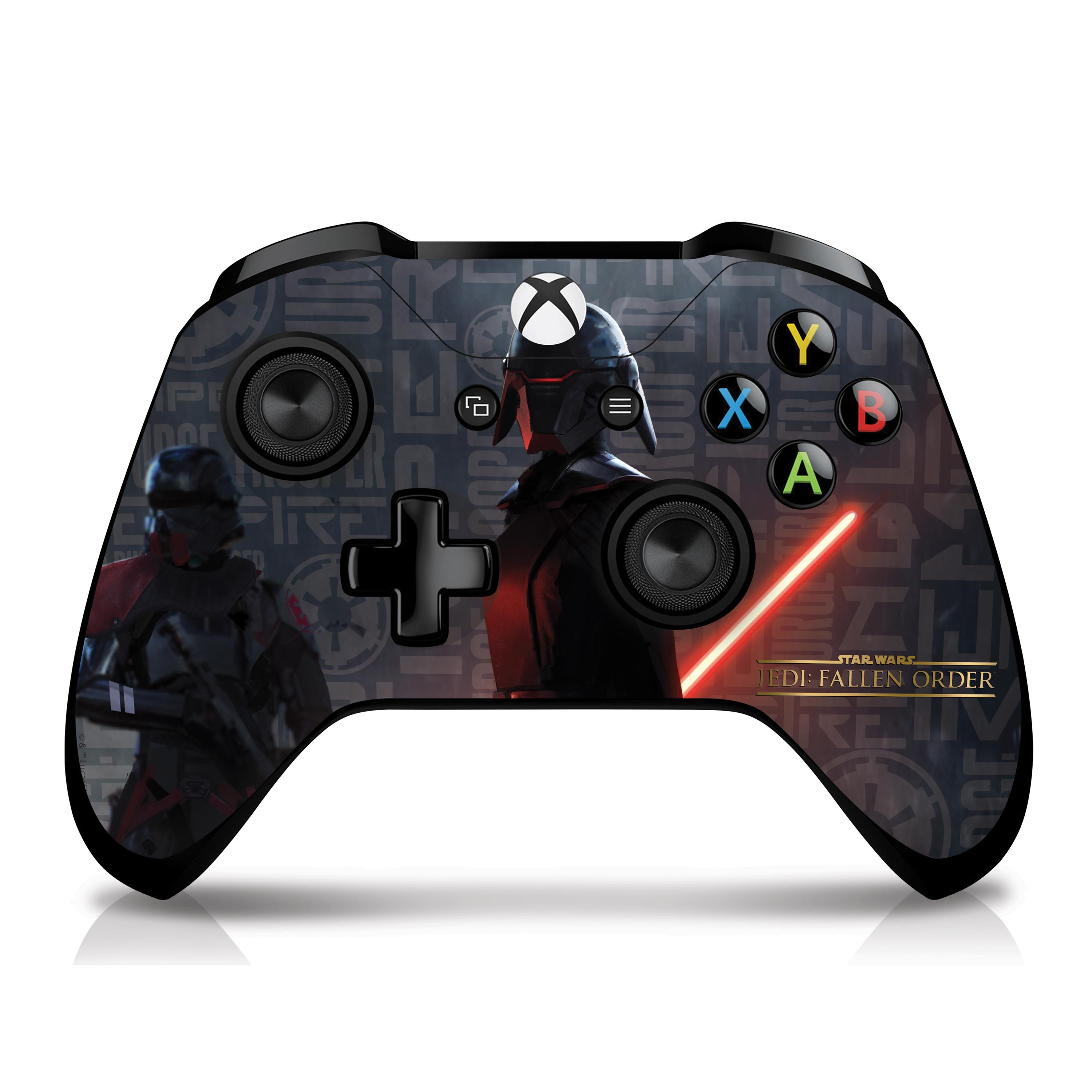 Star Wars Xbox One X Console and Controller Skin - Empire Scatter