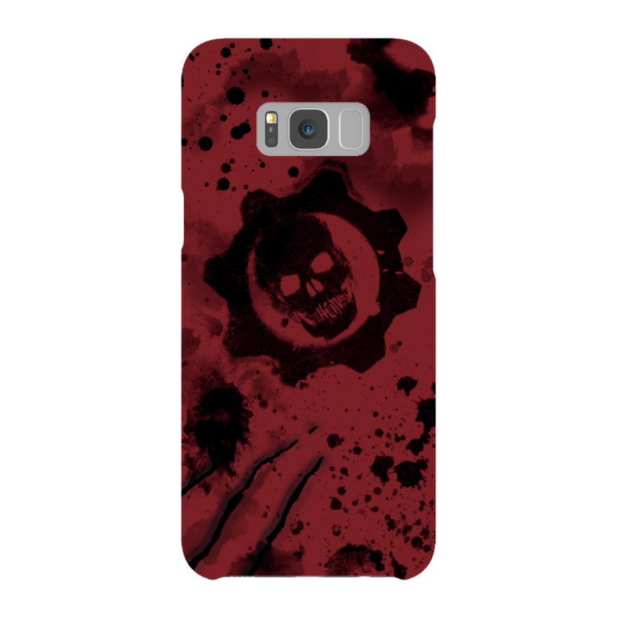 Samsung Galaxy S8 Plus Snap Case In Gloss: Gears of War 4 Crimson