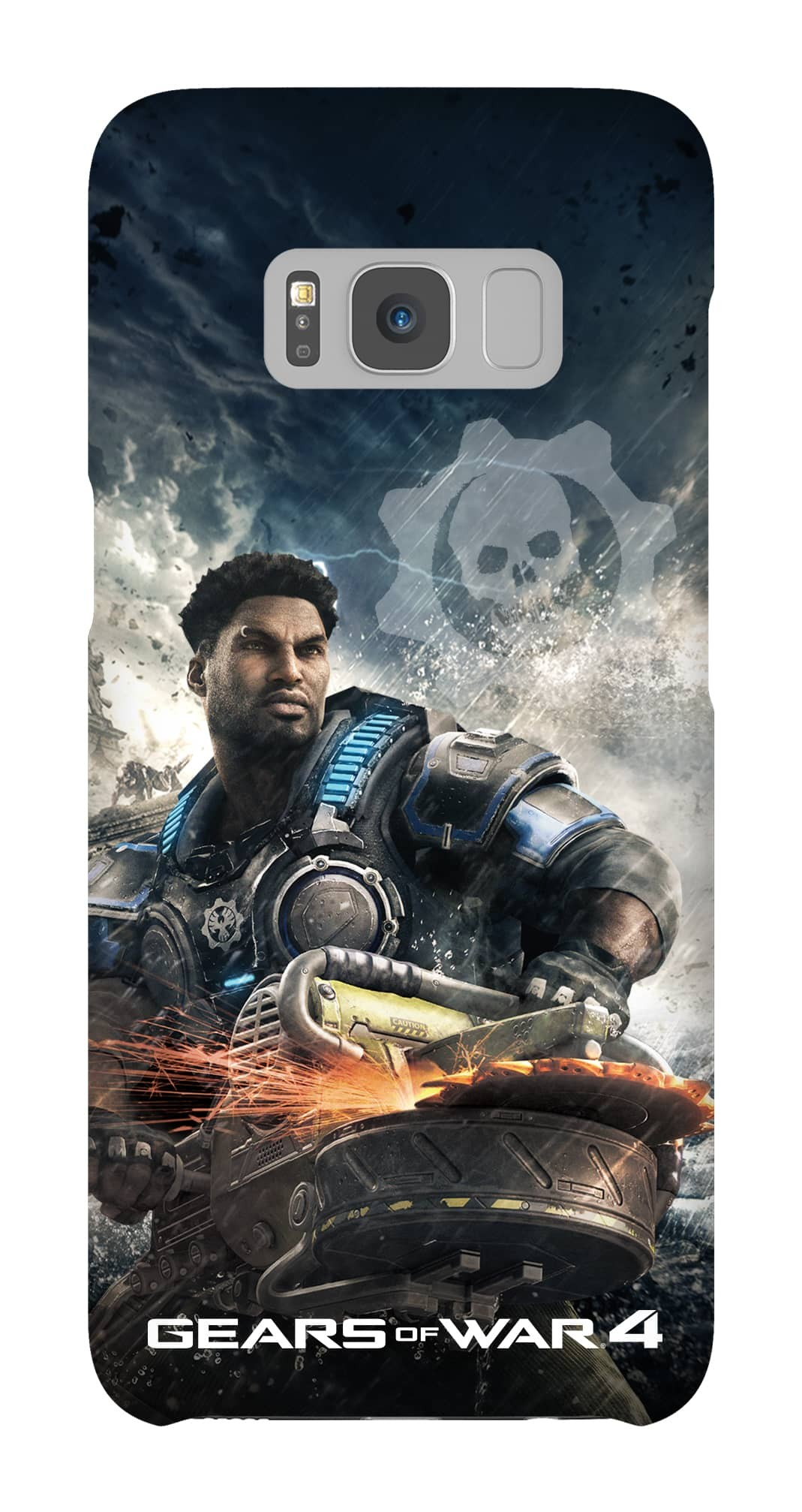 Samsung Galaxy S8 Snap Case Gloss: Gears of War Del Hacksaw