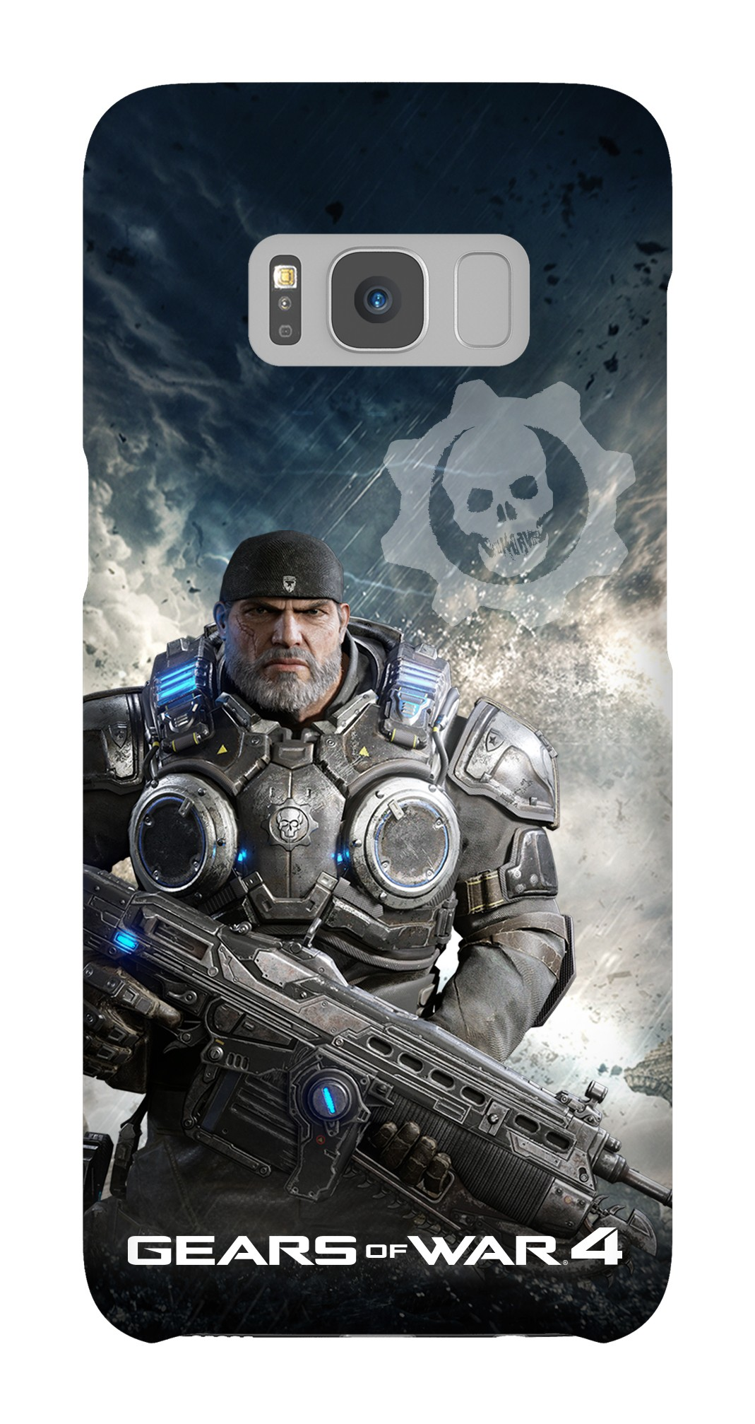Samsung Galaxy S8 Snap Case Gloss: Gears of War 4 Marcus Armored