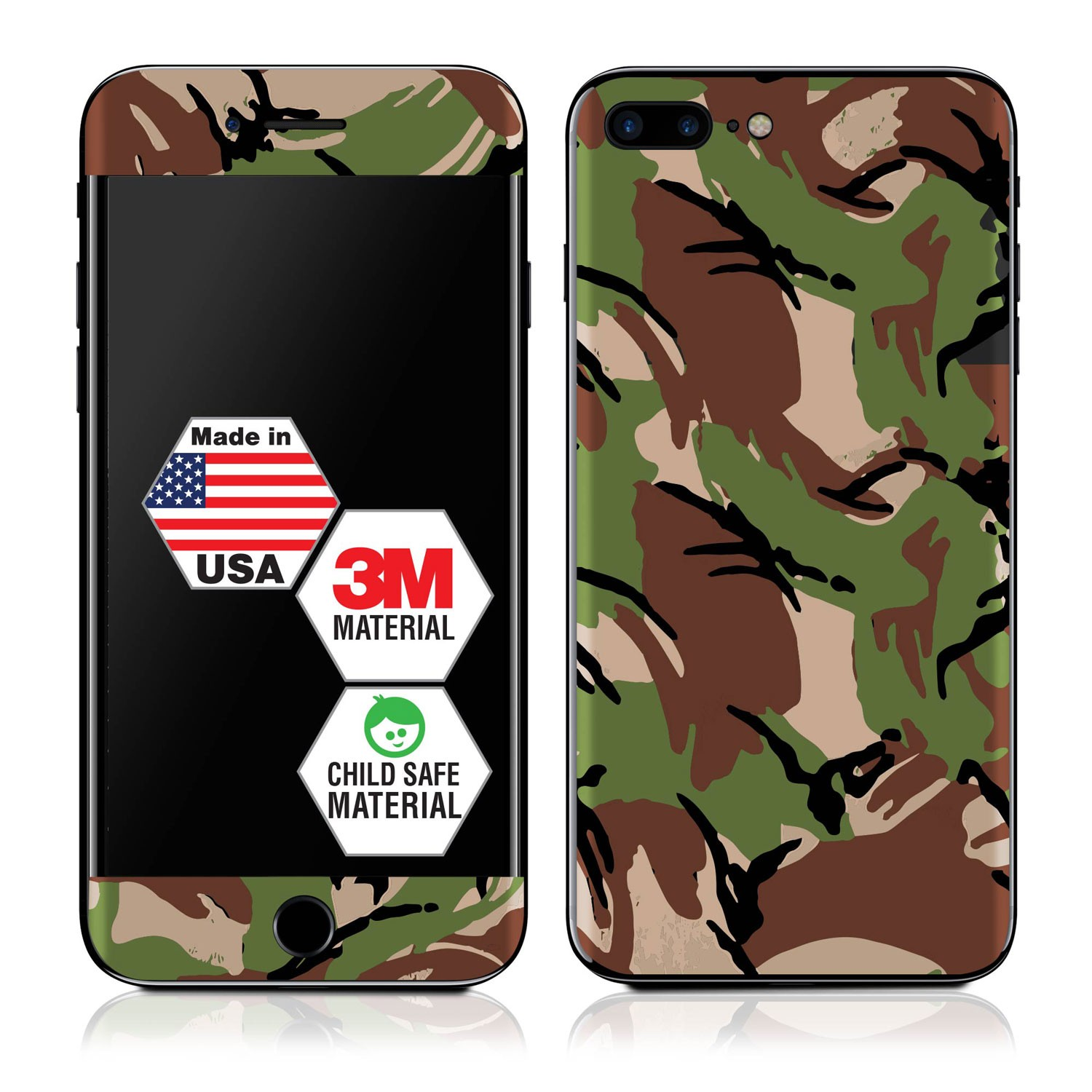 Genuine 3M British DPM Camo iPhone 7 Plus Skin
