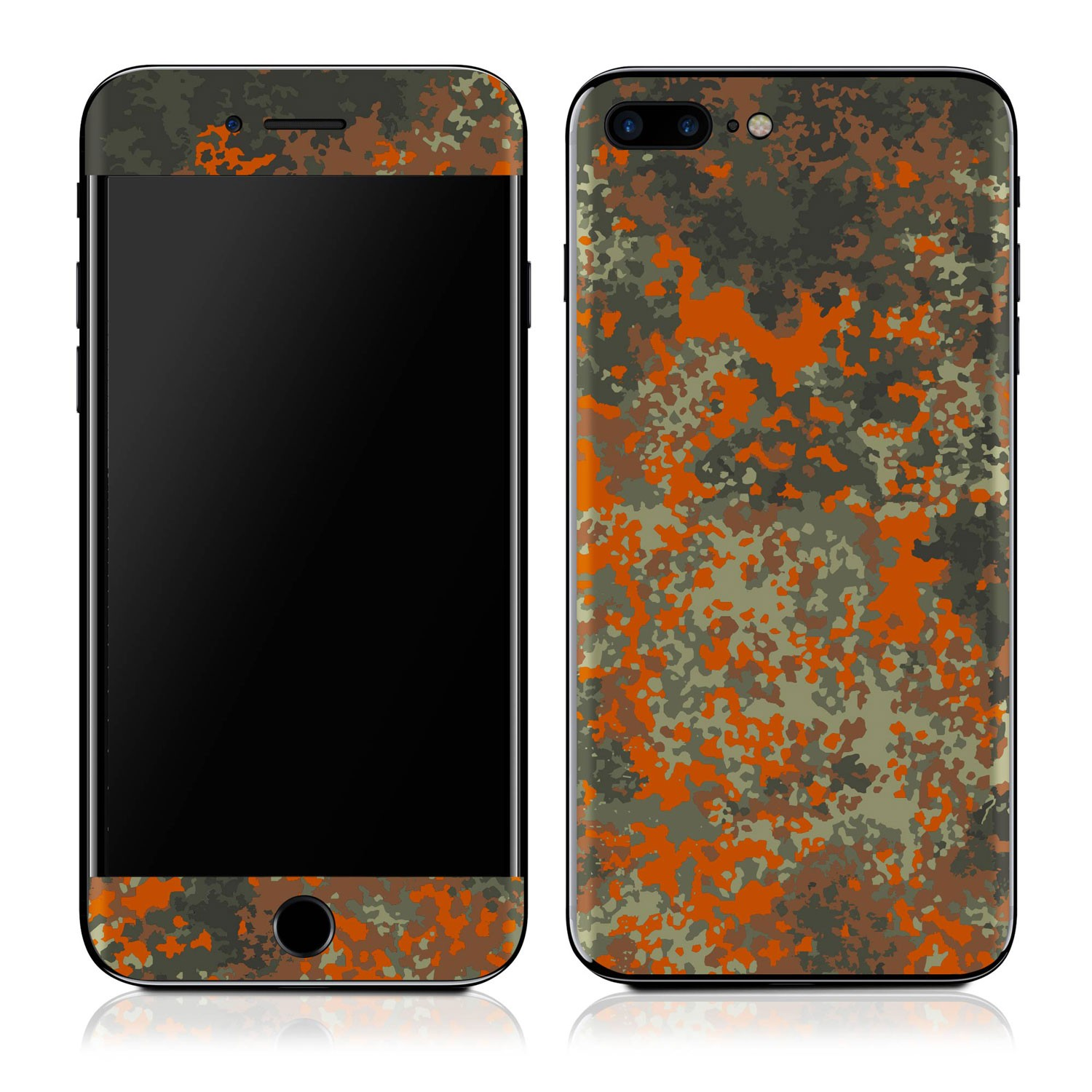 Genuine 3M Flectarn Splatter Camo iPhone 7 Plus Skin