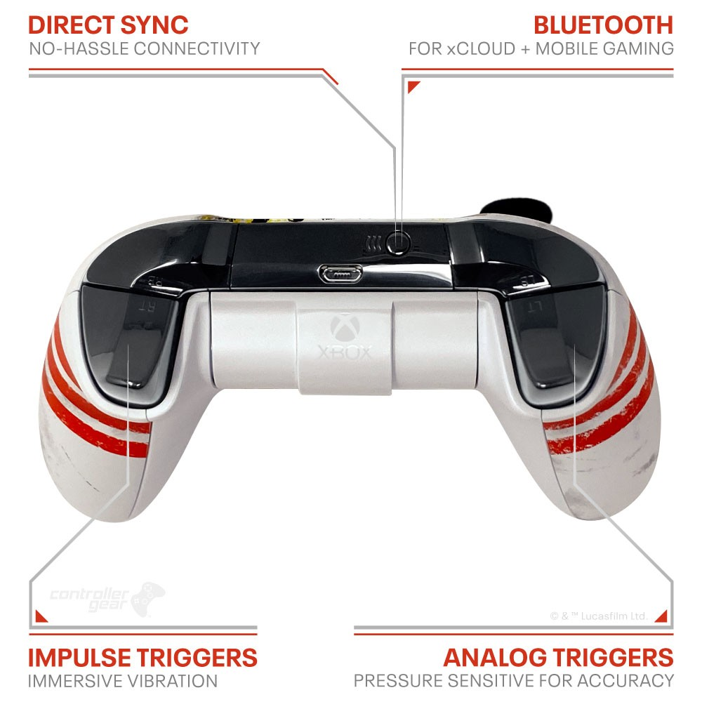 Xbox Controller and Charging Stand - Star Wars Image 1