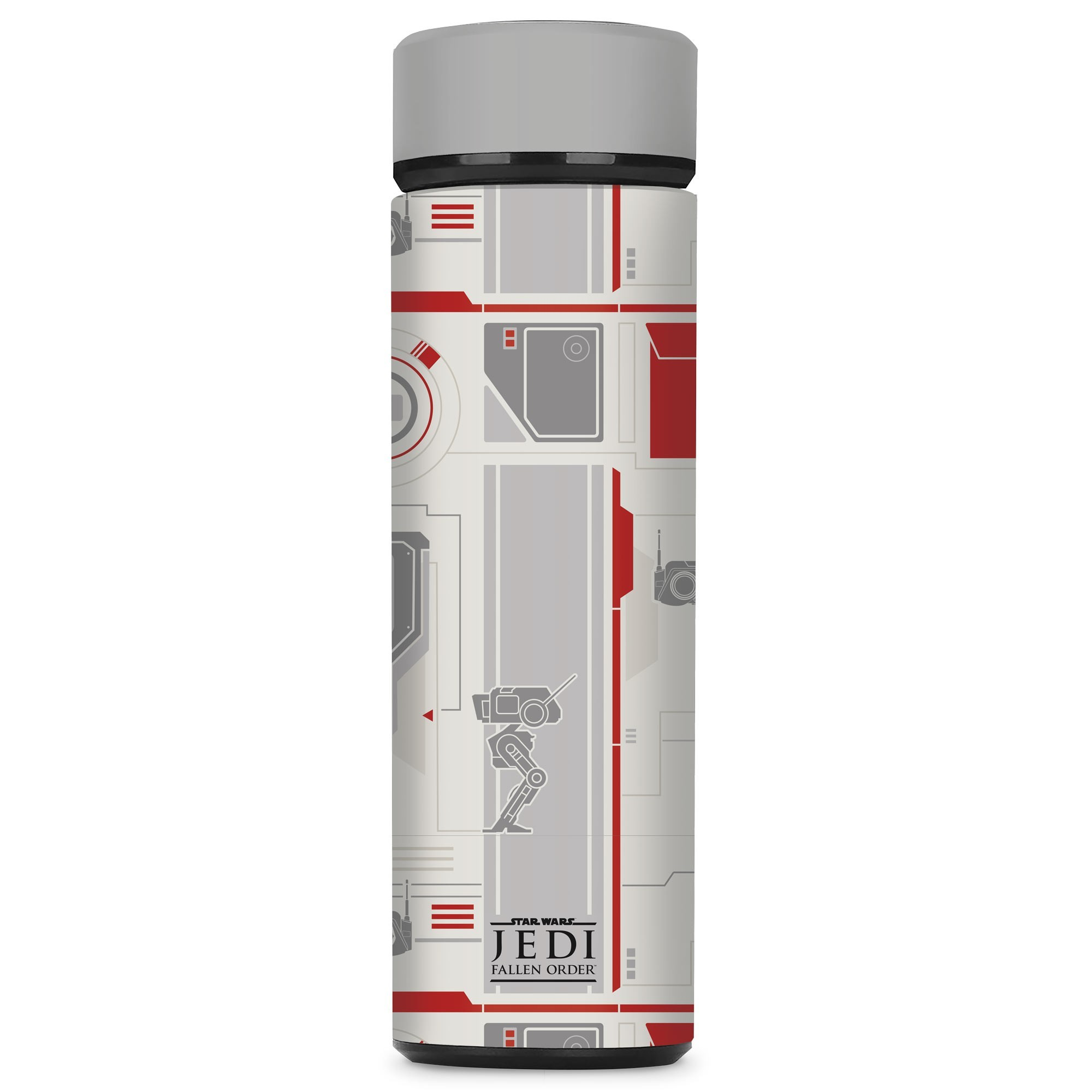 Star Wars Water Bottle with a Jedi Fallen Order Design, Image 1