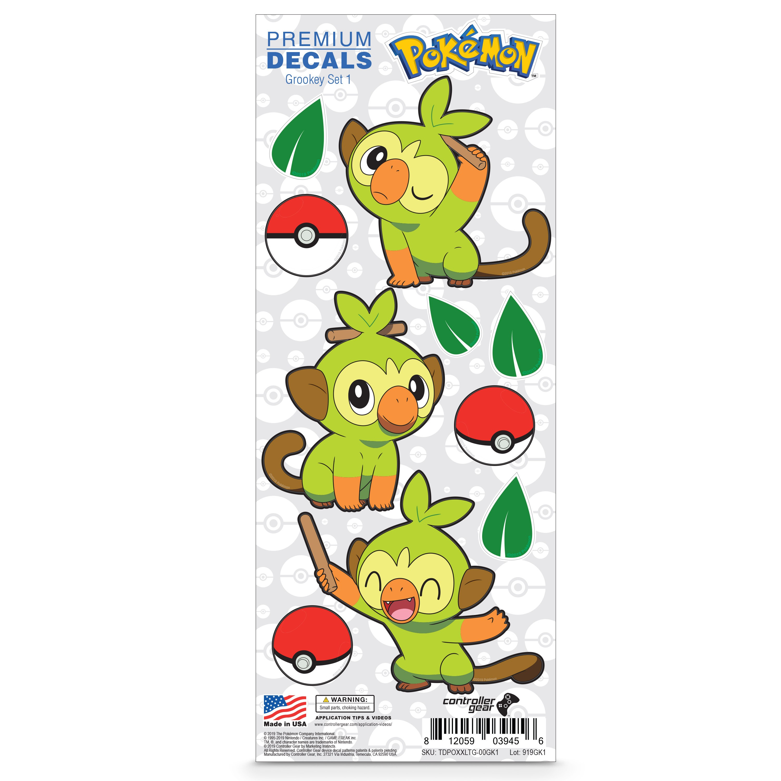 Grookey Images / Grookey is the pokemon whish has one type (grass) from the 8 generation.