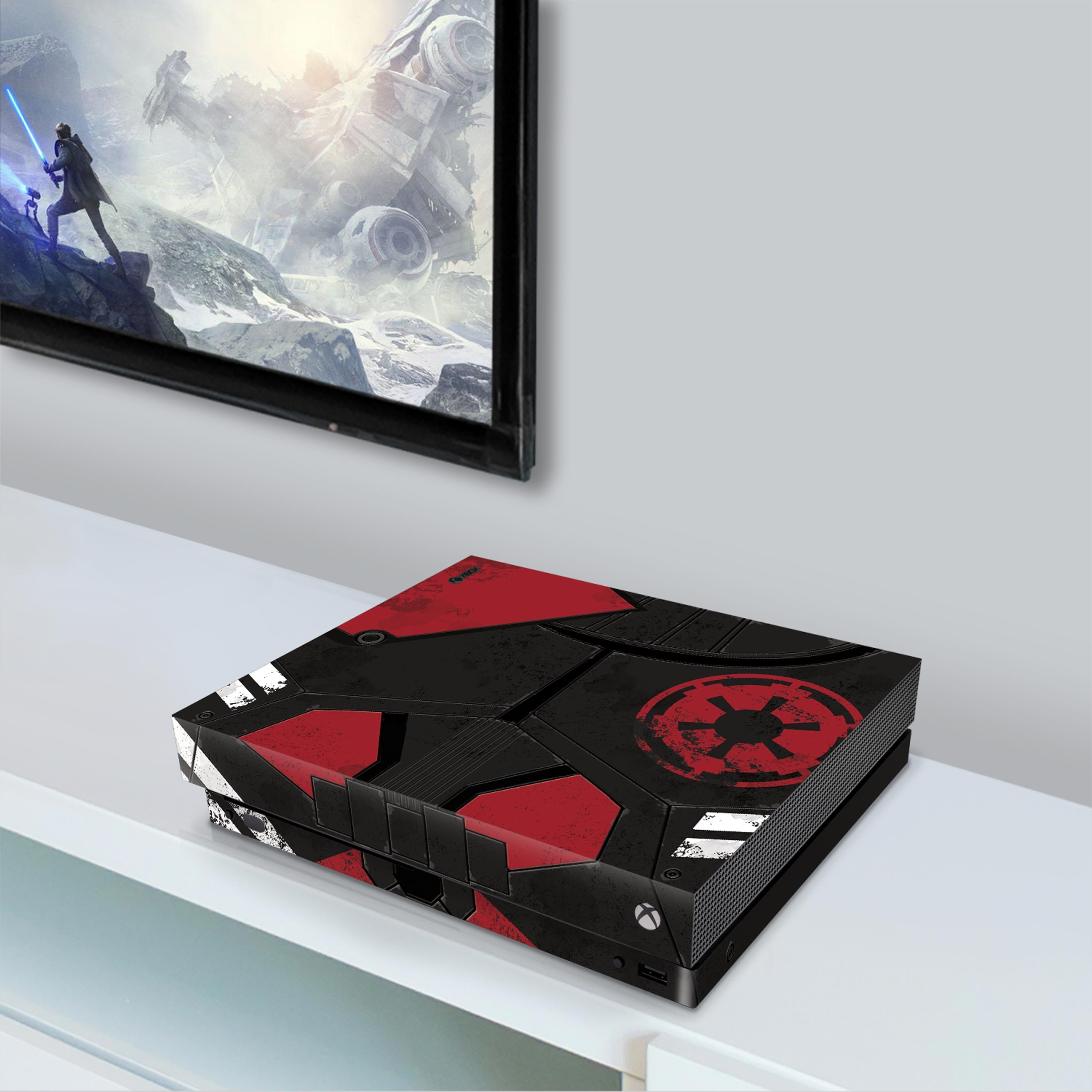 Xbox One X Console Skin with a Star Wars Jedi Fallen Order Design, Image 1