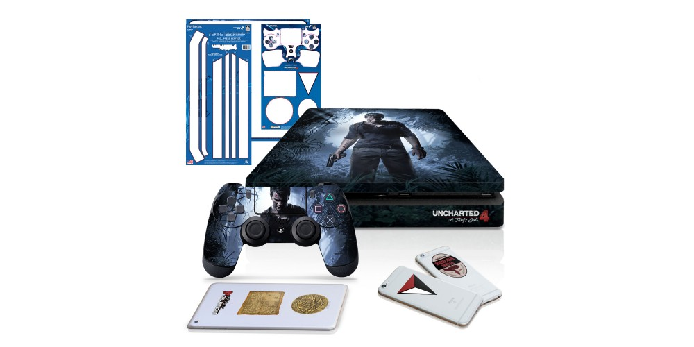 Uncharted 4 A Thief S End Ps4 Slim Horizontal Console And