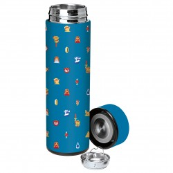 "The Legend of Zelda™ ""Retro Icons"" Insulated Steel Sport Bottle - Officially Licensed by Nintendo"