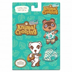 Animal Crossing: New Horizons - Nintendo Lapel Pin Set - 4 Piece