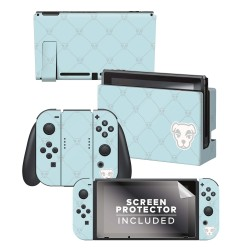 "Animal Crossing: New Horizons - ""K.K. Quilted"" - Nintendo Switch Skin Bundle"