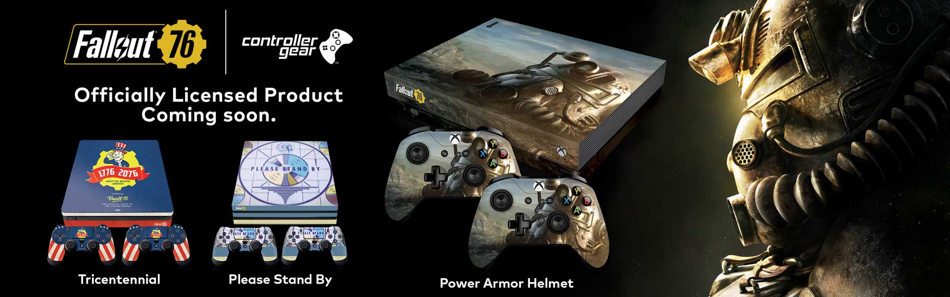 Fallout 76 Console Skins Now Available!