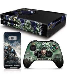 Shop phone cases, controller skin and controller stands