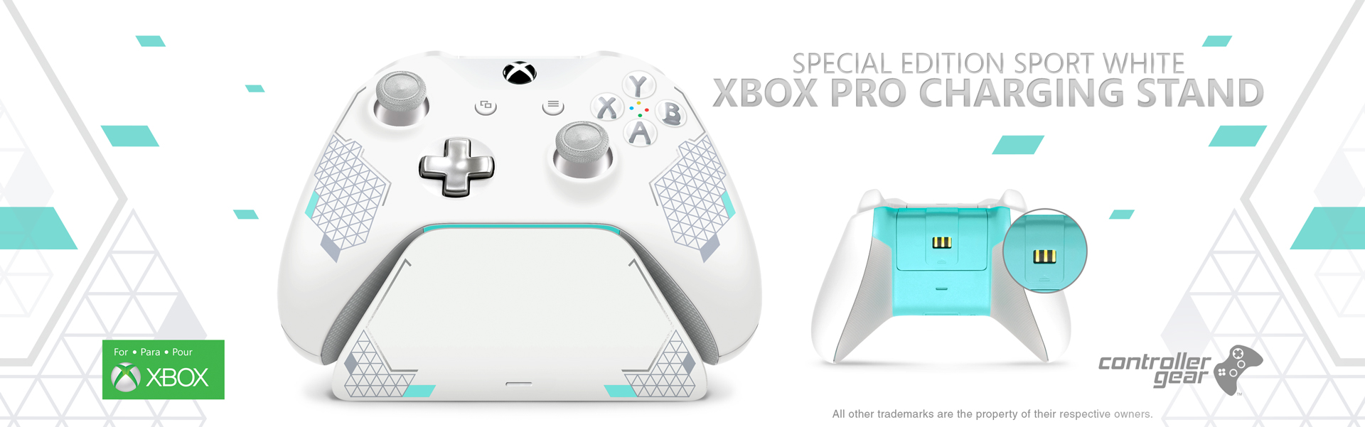 Sport White Special Edition Xbox Pro Charging Stand