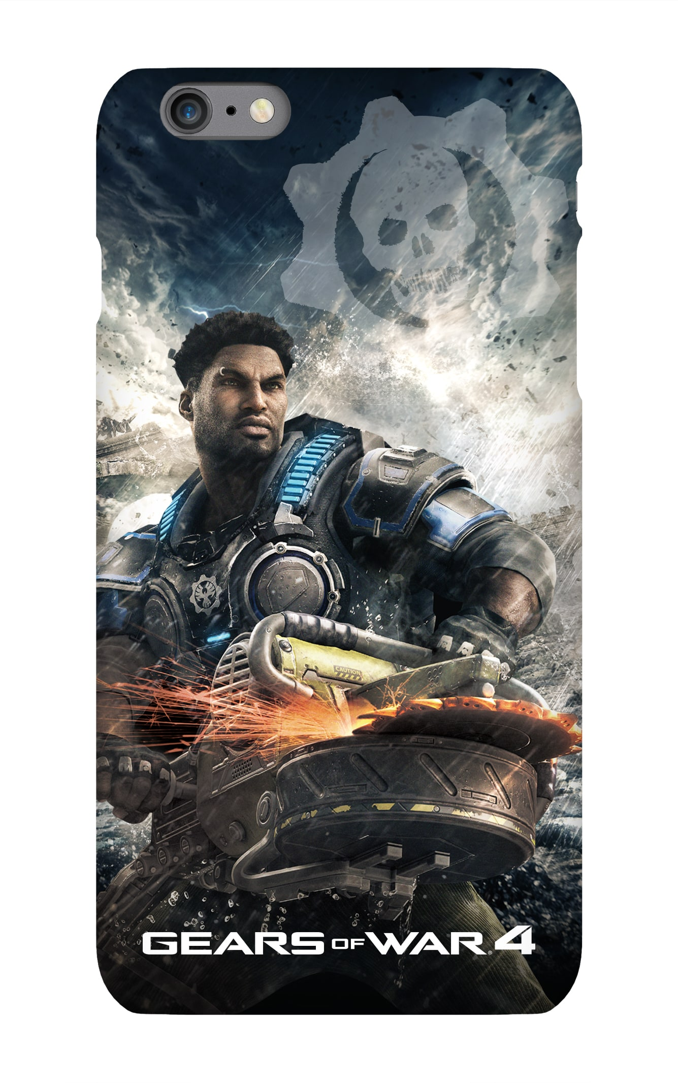 Gears of War 4: Del Hacksaw iPhone 7 Snap Case Gloss