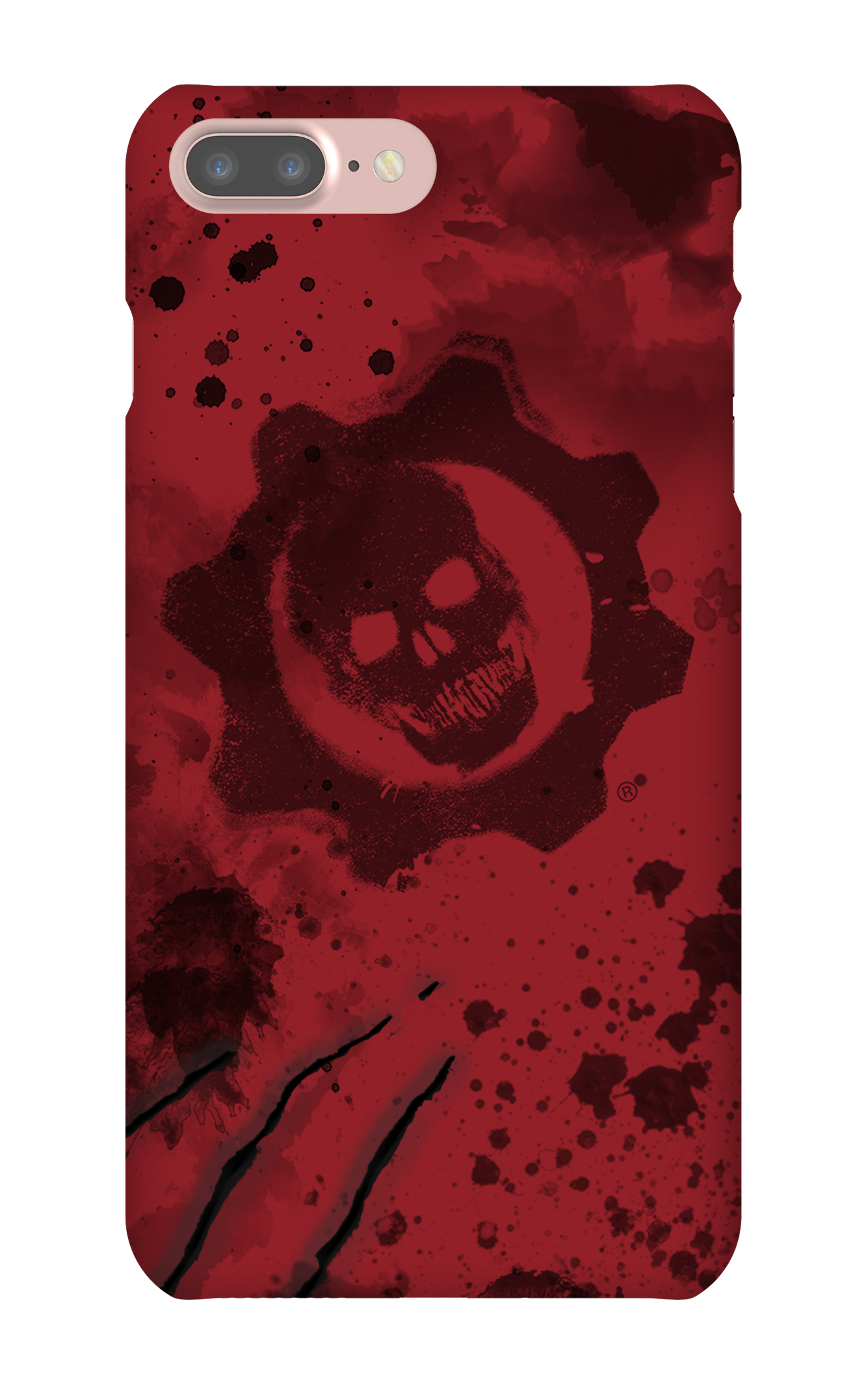 Gears of War 4: Crimson Omen iPhone7 Plus Snap Case Gloss