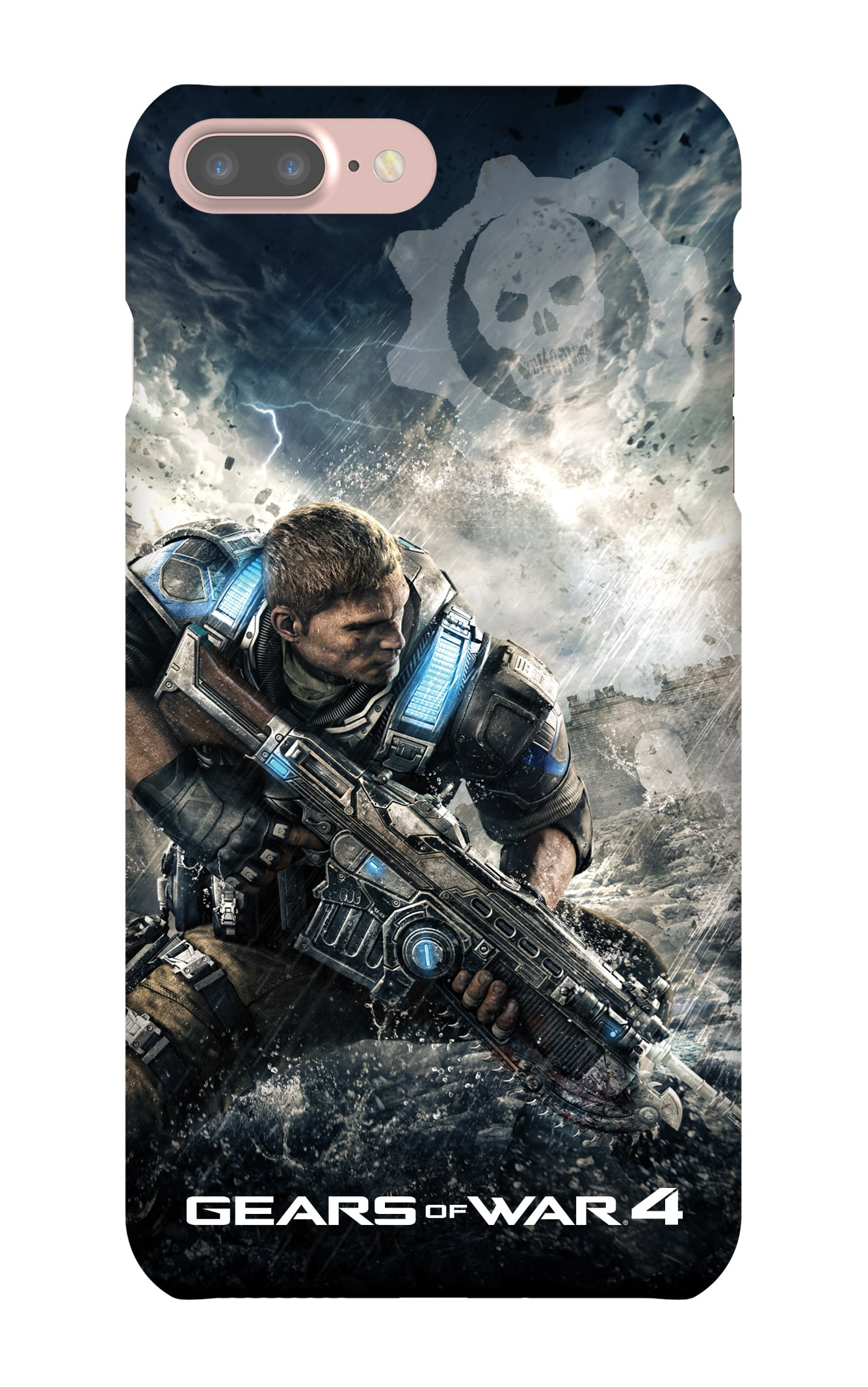 Gears of War 4: Del Hacksaw iPhone7 Plus Snap Case Gloss