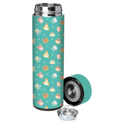 Animal Crossing Teal Icons Bottle