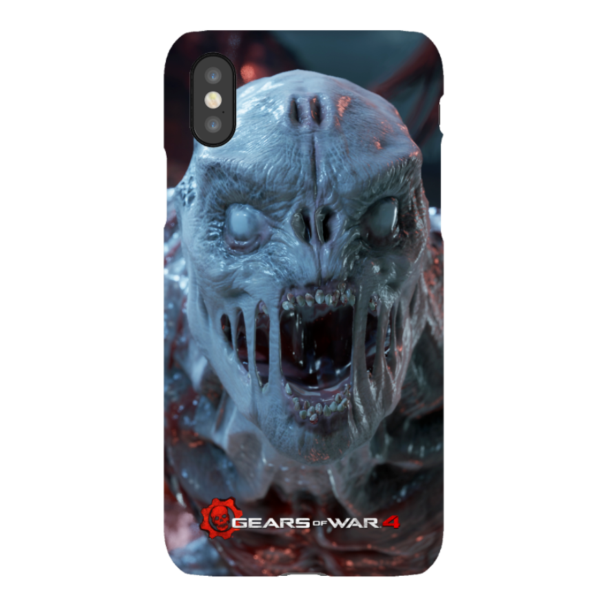 iPhone X Tough Case Matte: Gears of War iPhone X Tough Case Matte: Gears of War 4 Juvie